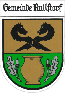 Das Wappen der Gemeinde Rullstorf