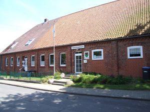 Gemeindebüroeingang in Rullstorf