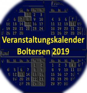 Veranstaltungen in und um Boltersen in 2019