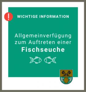 Gemeinde Rullstorf; Info Fischseuche